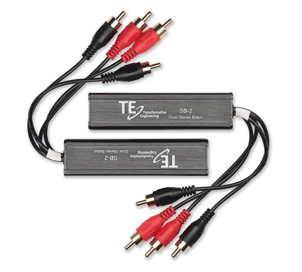 SB-2 Dual Stereo Audio Balun